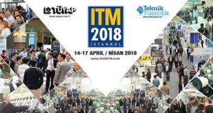 Welcome to biggest textile machinery show in Middle East and North Africa – ITM 2018 Presentation