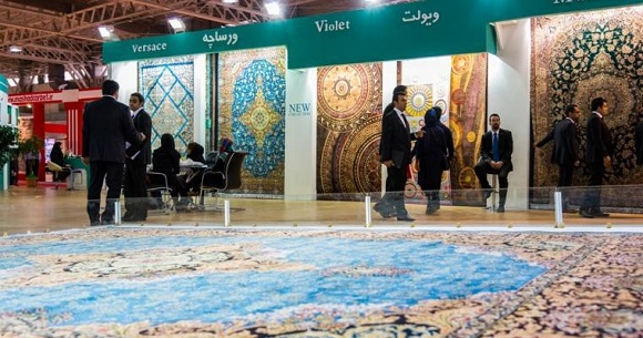 Int'l Machine-Made Carpet and Flooring  Exhibition Held in Tehran