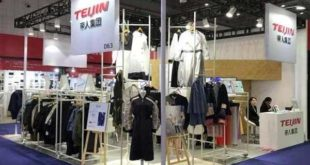 Teijin displays floor coverings at Domotex 2019