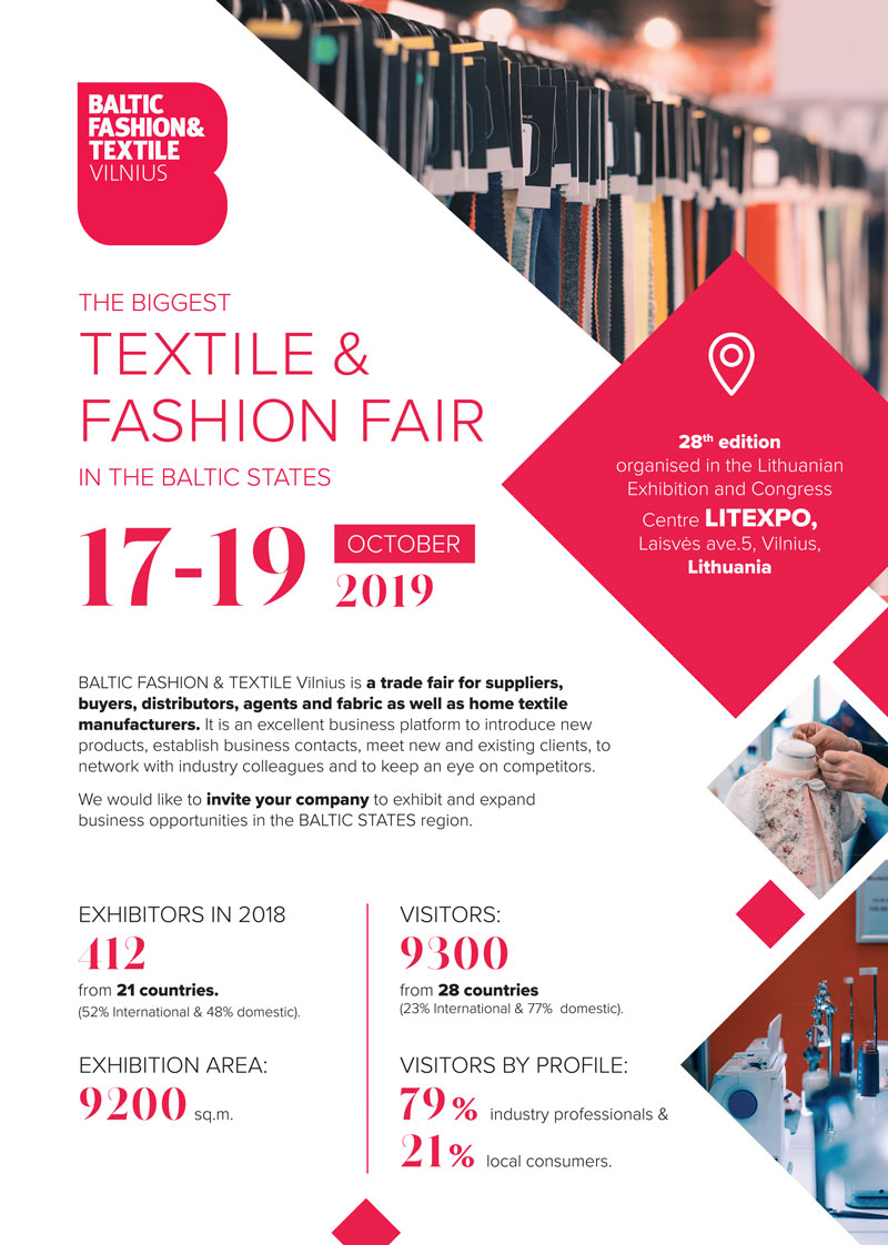 Baltic Fashion and Textile Expo