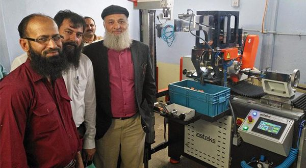 Nishat Group gets Asteks' 201-SF cots grinding machine