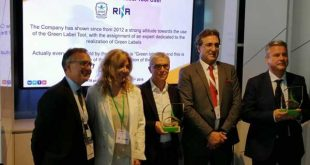 ACIMIT and ITA present Italian Green Label Award at ITMA 2019