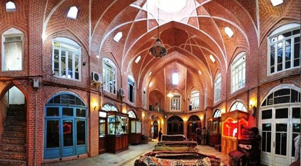 Tabriz Historic Bazaar; world's largest and most interconnected complex