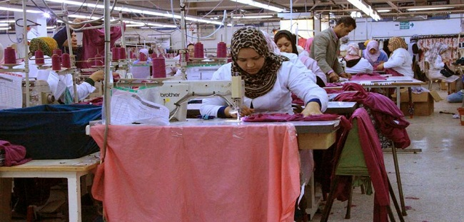 Moroccan textile industry