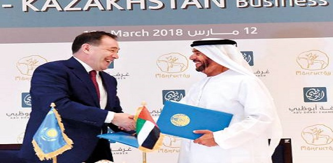 Kazakhstan-UAE trade