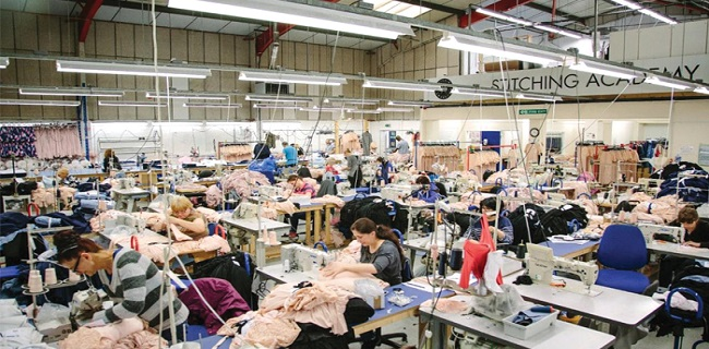 The UK textile and clothing industry