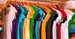colorful apparels
