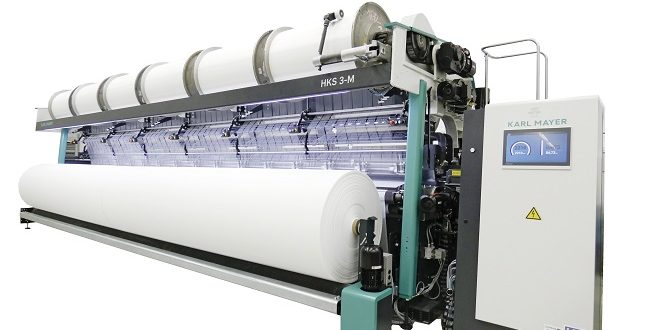 The world's widest tricot machine is now available on the market