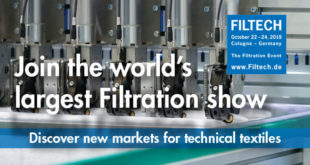 Filtech ; Largest filtration show world-wide