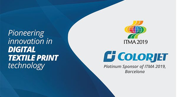 ColorJet India Becomes Platinum Sponsor at ITMA 2019
