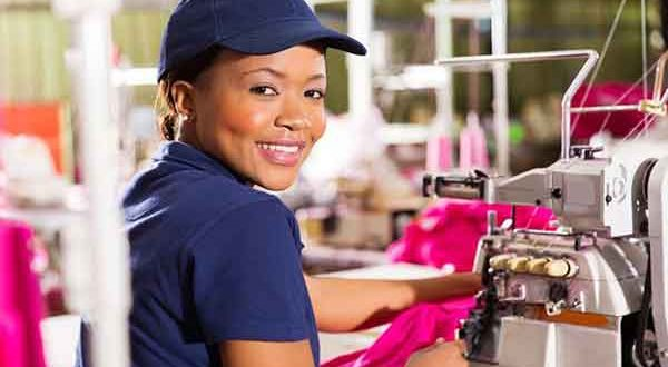 Nigerian president assures textile workers of job creation
