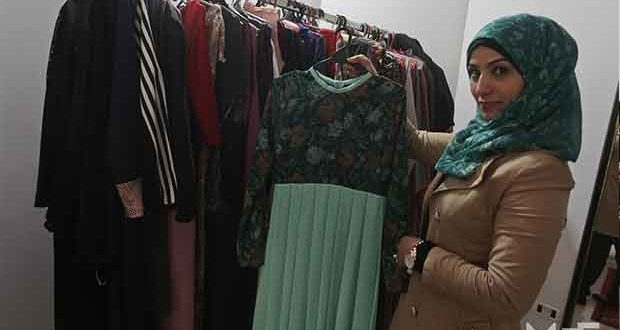 Gaza's first female fashion designer