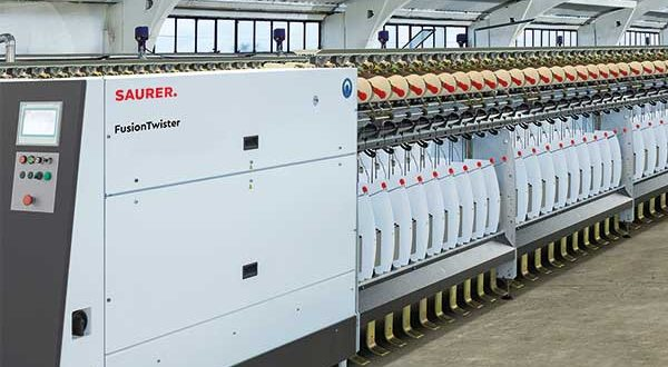 Saurer's highly efficient FusionTwister at ShanghaiTex 2019