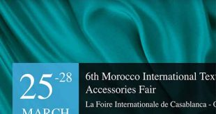 Morocco Fashion & Tex Fair will be opening doors exhibition between 25-28 March 2020