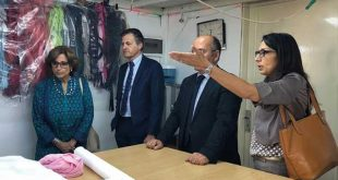 Garment training centre boosts first innovative textile cluster in Jordan