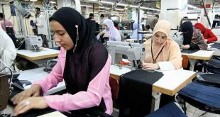 EGYPT AIMS TO BE TEXTILE INDUSTRY HUB BY 2025: MINISTRY OF THE PUBLIC BUSINESS SECTOR
