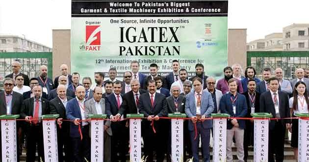 The 13th International Garment and Textile Machinery Exhibition & Conference.