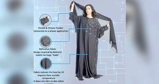Bahraini fashion designer invents smart Abaya