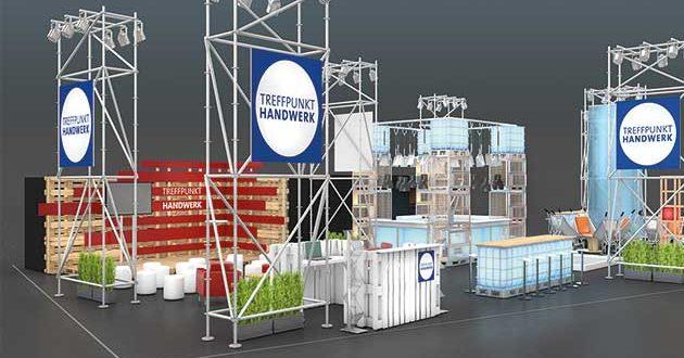 News at Treffpunkt Handwerk during DOMOTEX 2020