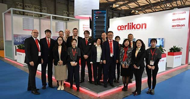 Oerlikon showed world premieres in China
