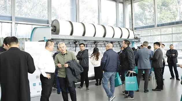 Karl Mayer successfully closes inhouse show in Shanghaitex