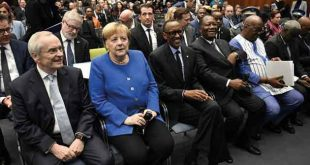 MERKEL URGES REFORMS IN AFRICA TO WOO GERMAN INVESTORS TO THE REGION