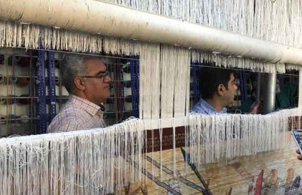World's Largest Pictorial Carpet Woven in Iran for China