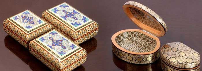 Young Couple Selling Iranian Handicrafts Online