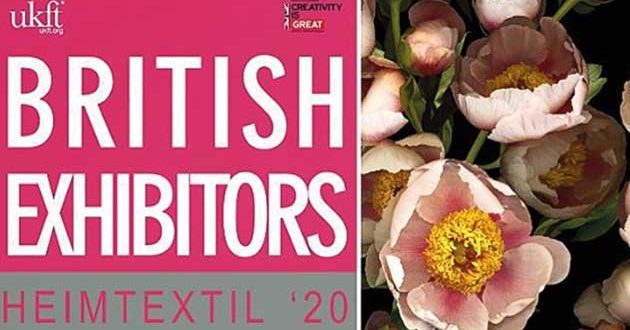 News and Highlights from British Exhibitors at Heimtextil 2020