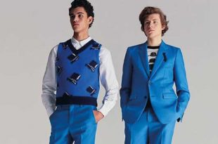 Viktor & Rolf relaunches its menswear collection