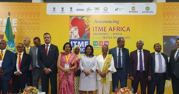 Indian ITME Society holds machinery exhibition in Ethiopia
