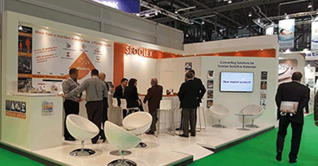 MEET SPOOLEX AT INDEX 20 TO DISCOVER ITS SLITTING-REWINDING, SPOOLING AND SPLICING TECHNOLOGIES