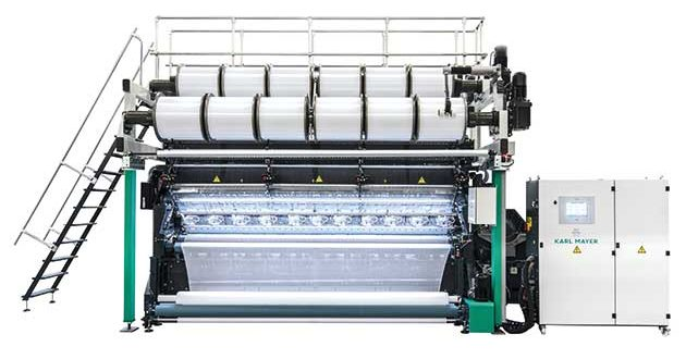 KARL MAYER's new RJ 5/1 offers improved price-performance ratio, and attracts a lot of attention in China
