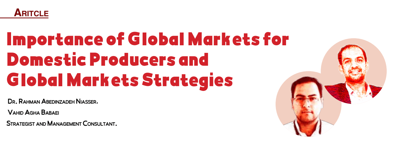 Global Markets for Domestic Producers