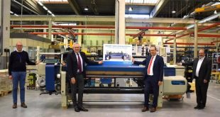 Picanol realizes production milestone with 100,000th rapier weaving machine in Ieper