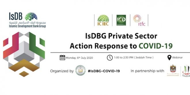 IsDBG Private Sector Action Response to COVID-19