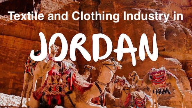 Jordan's textile and clothing industry