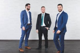 Management Board of Mayer & Cie.: Sebastian Mayer, Marcus Mayer and Benjamin Mayer (from left to right).