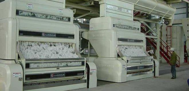 ginning machine cotton