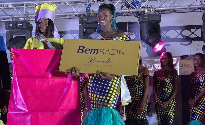 BemBAZIN™ is the official sponsor of Miss Senegal