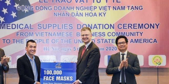Interview with Dony Company-Middle east textile journal-face mask-new contract-min