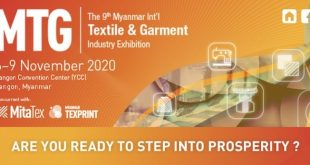 The 9th Myanmar Int'l Textile & Garment Industry Exhibition-kohan-journal-min