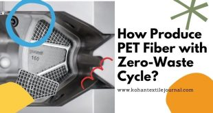 How Produce PET Fiber with Zero-waste cycle?