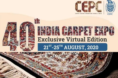 image CEPC organised 1st virtual edition of 40th India Carpet Expo
