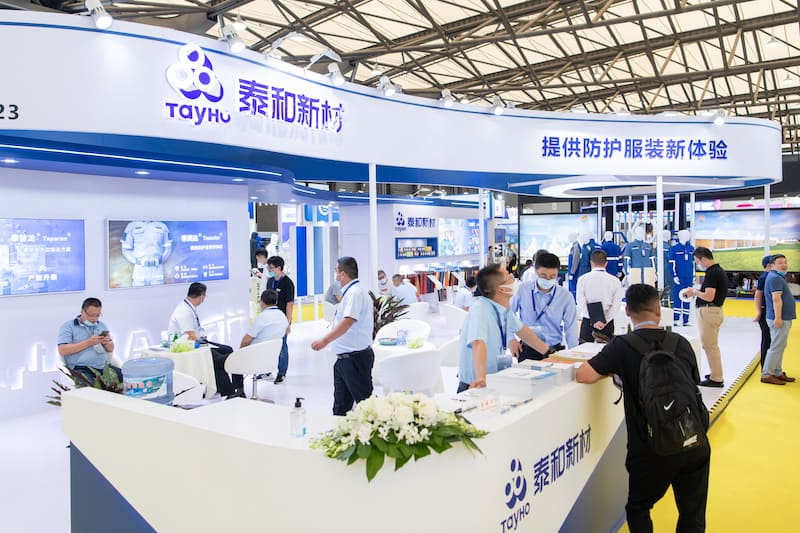 Cinte-Techtextil-China-kohan-journal-Booths