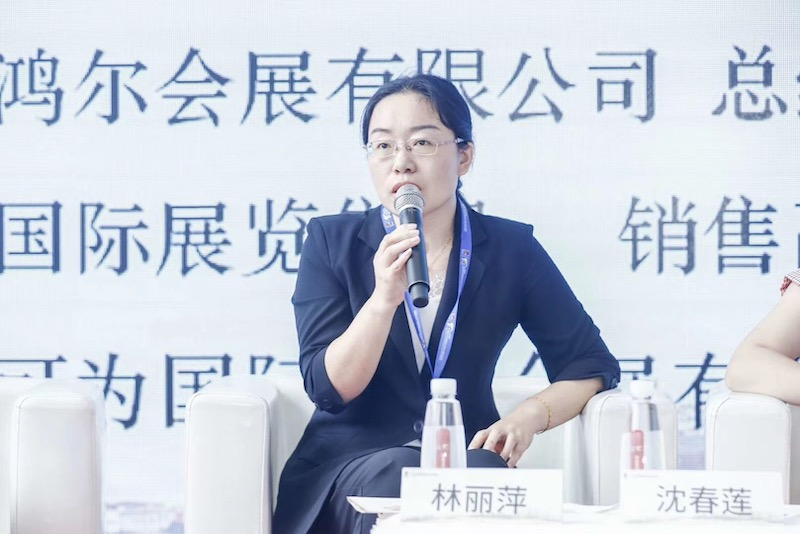 Ms. Linda Lin – General Manager of Zhejiang Honger Convention and Exhibition Co., Ltd