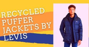 Recycled puffer jackets by Levis