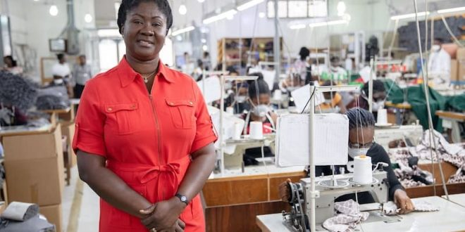 textile production Made in Ghana