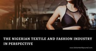 The Nigerian Textile and Fashion Industry in Perspective