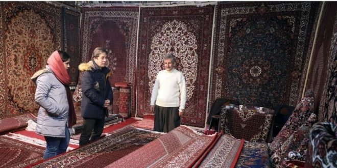 Iran's handwoven carpet export unchanged despite coronavirus epidemic